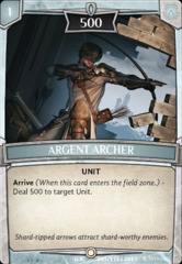 Argent Archer on Channel Fireball