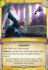 Corum War Room on Channel Fireball