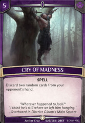 Cry of Madness - Foil on Channel Fireball