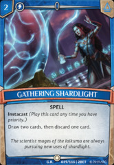Gathering Shardlight - Foil