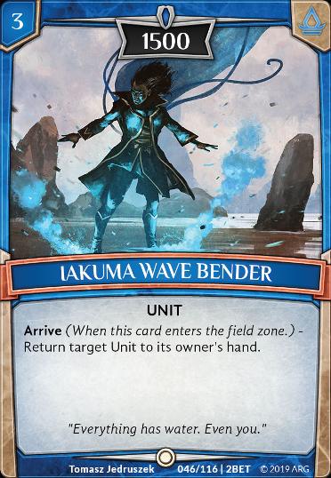 Iakuma Wave Bender
