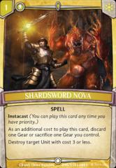 Shardsword Nova - Foil