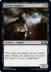 Barony Vampire on Channel Fireball