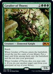 Cavalier of Thorns - Foil