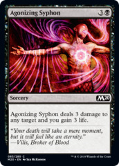 Agonizing Syphon - Foil on Channel Fireball