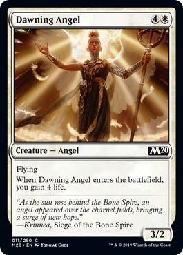Dawning Angel - Foil