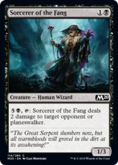 Sorcerer of the Fang - Foil