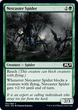 Netcaster Spider - Foil