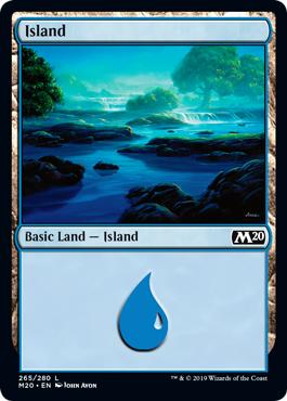 Island (265) - Foil