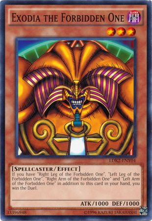 Exodia the Forbidden One - LDK2-ENY04 - Common - Unlimited Edition