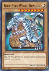 Blue-Eyes White Dragon (SDDC art) - LDK2-ENK01  - Common - Unlimited Edition