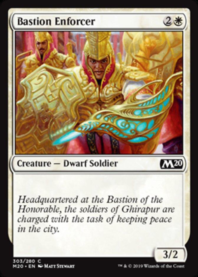 Bastion Enforcer - Spellslinger Deck Exclusive