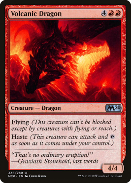 Volcanic Dragon - Welcome Deck Exclusive