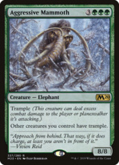 Aggressive Mammoth - Welcome Deck Exclusive