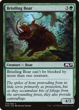Bristling Boar - Welcome Deck Exclusive