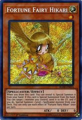Fortune Fairy Hikari - BLHR-EN014 - Secret Rare - 1st Edition on Channel Fireball