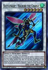 Battlewasp - Halberd the Charge - BLHR-EN037 - Ultra Rare - 1st Edition on Channel Fireball