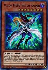 Vision HERO Witch Raider - BLHR-EN060 - Ultra Rare - 1st Edition