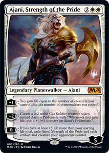 Ajani, Strength of the Pride - Promo Pack
