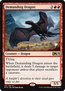 Demanding Dragon - Promo Pack