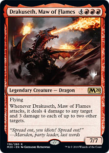 Drakuseth, Maw of Flames - Promo Pack