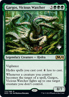 Gargos, Vicious Watcher - Promo Pack