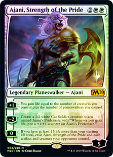 Ajani, Strength of the Pride - Foil - Promo Pack