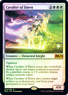 Cavalier of Dawn - Foil - Promo Pack