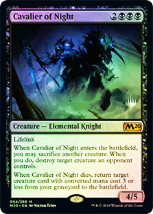 Cavalier of Night - Foil - Promo Pack