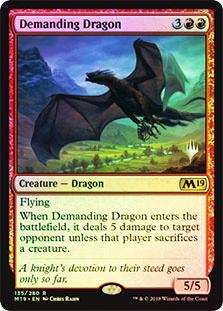 Demanding Dragon - Foil - Promo Pack