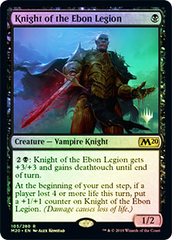 Knight of the Ebon Legion - Foil
