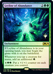 Leyline of Abundance - Foil - Promo Pack