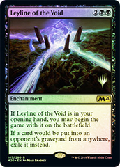 Leyline of the Void - Foil - Promo Pack
