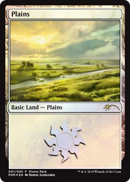 Plains (001) - Foil - Promo Pack