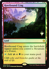 Rootbound Crag - Foil - Promo Pack