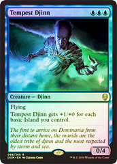 Tempest Djinn - Foil - Promo Pack