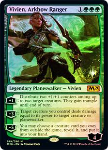 Vivien, Arkbow Ranger - Foil - Promo Pack
