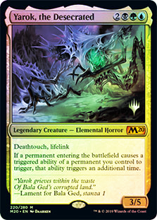 Yarok, the Desecrated - Foil - Promo Pack