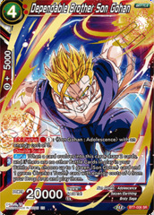 Dependable Brother Son Gohan - BT7-006 - SR