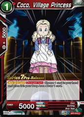 Coco, Village Princess - BT7-015 - C - Pre-release (Assault of the Saiyans)