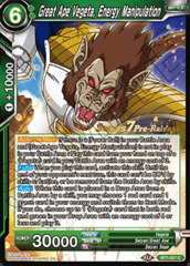 Great Ape Vegeta, Energy Manipulation - BT7-057 - C - Pre-release (Assault of the Saiyans)