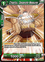 Chiaotzu, Desperate Measures - BT7-064 - C - Pre-release (Assault of the Saiyans)