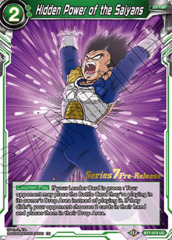 Hidden Power of the Saiyans - BT7-072 - UC - Pre-release (Assault of the Saiyans)