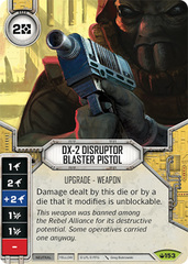 DX-2 Disruptor Blaster Pistol