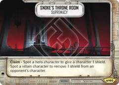 Snoke's Throne Room - Supremacy