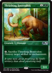 Thrashing Brontodon - Promo Pack - Dark Frame - Foil