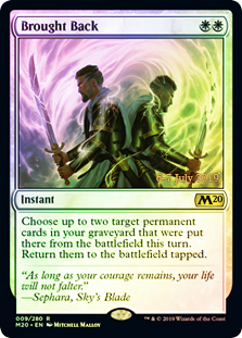 Brought Back - Foil - Prerelease Promo
