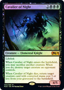 Cavalier of Night - Foil - Prerelease Promo