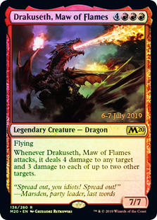 Drakuseth, Maw of Flame - Foil - Prerelease Promo