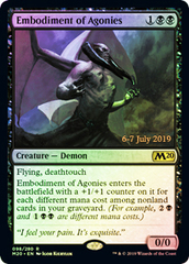 Embodiment of Agonies - Foil - Prerelease Promo